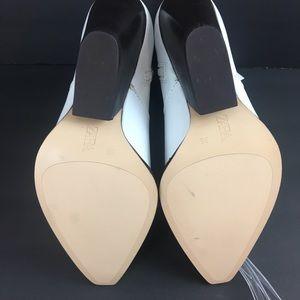 6c4db536d8e Zara White Leather Cowboy Boots Size Eur 36 US 6 NWT